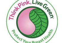 Breast Cancer Pink Recycling Ideas / Breast Cancer Yoga supports pink ways to recycle!