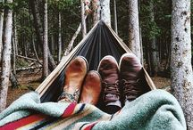 camp out.