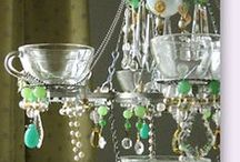 Lamps, chandeliers, and antique lighting