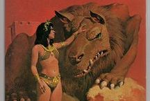 Barsoom / A board about Edgar Rice Burroughs' tales of Barsoom (Mars, to some). / by G Louis