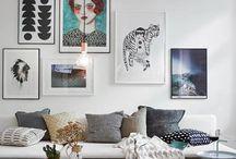 I N T E R I O R / Warm Trendy/ design/ modern Grove textuur