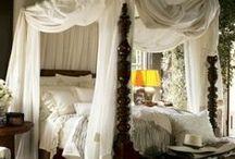 Headboards, bedding & bedrooms / by Debbie Lewis