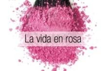La vida en rosa / by Cosméticos Valmy