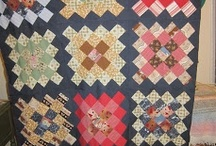 Quilts - Granny Square and scrappy