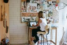 workspaces + studios / by Mary Stonecypher Maslow