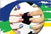 Valmy Mundial / ¡Ideas para darle color a tu uñas y las llenes de la fiebre del mundial!