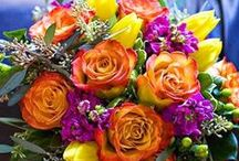 Funtastic Florals! / Florals about mixing and matching different colors, types of flowers and arrangements in general! Enjoy!