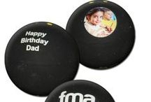 Printed Squash Balls / A selection of printed squash balls. Available printed with your choice of logo, text and even photograph.