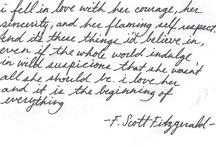 words. / by Kaylia Fisher