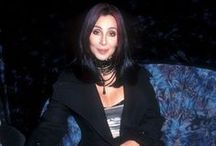 Believe... / Cherilyn Sarkison La Piere better known as Cher:  May 20, 1946. She is a televison personality, singer, film director/producer, fashion designer, entreprenuer & mom to Chaz & Elijah. She is also a Golden Globe and Academy award winner. All I can say, is there is only one Cher:) / by Susan Harris