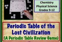 Periodic Table / This board will contain teaching materials on the periodic table. / by Science Stuff
