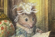beatrix potter-rabbit tales / Once upon a time there were four little rabbits, and their names were- Flopsy, Mopsy, Cotton-tail and Peter. They lived with their Mother in a sandbank underneath the root of a very big tree. ( The Tale of Peter Rabbit ) / by Linda Davis