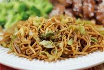 Asian food / by Linda Davis