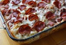 casseroles- comfort food / by Linda Davis