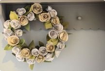 Crafts - Wreaths / by Lauriann Rosenvall