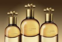 KNOT / As with Bottega Veneta's signature fragrance, the Knot's bottle is inspired by Venetian glasswork and the traditional Italian carafe, having naturally evolved unto itself. The bottle's oro matte cap is its most distinctive design element; as the fragrance's name is an homage to Bottega Veneta's beloved Knot clutch, Tomas Maier designed the cap to echo the bag's iconic knot-shaped closure. The result is a vessel with the luxurious feel of the finest of jewelry.  / by Bottega Veneta