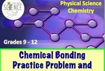 Chemistry Worksheets, Study Guides and Homework / This are ready-to-print and ready-to-use practice problems, worksheets, homework assignments and study guides for your high school chemistry students. / by Science Stuff