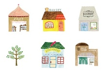houses / by Jennifer McGlon