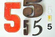 numbers & letters / by Jennifer McGlon