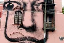 ART: Graffiti & Street Art / incredible works of art outside of the confines of a canvas square / by Lauren Cusack