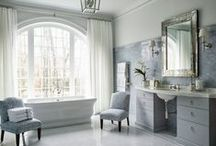 beautiful bathrooms / Celebrating the space where we begin and end the day - the bathroom -  an oasis, a refuge and a design statement. / by Walker Zanger