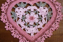 thread crochet hearts / heart patterns to crochet for Valentine's day or anytime