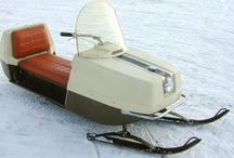 Beautiful Old Snowmobiles / by DeWitt Harkness