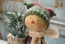 Christmas Prims /  My boards are your boards. Enjoy pinning all you want. / by Donna Hardway Yoho