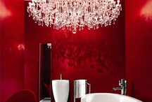 Color Inspiration: Red / Mood board and inspiration for ways to use and pair red.