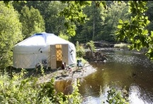 Everybody yurts, sometimes / Yurts, wagons, tents, tipis, trailers, moveable homes of all sorts.