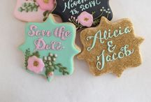 Cookies: Alicia The Cookie Girl / Facebook.com/aliciathecookiegirl and @aliciathecookiegirl on Instagram  / by Alicia Wimberley