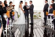 Tristen & Tim's wedding / #Chesapeake Bay Beach Club