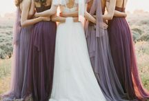 Dream Wedding / A purple and gray themed wedding would be a dream