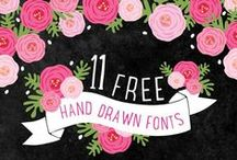 Fonts / by Jessica Hare
