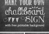 Printable / free printables for all occassions.