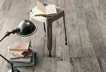 Worn, Weathered and Wonderful / A place for worn, weathered and wonderful pieces including our porcelain wood-look tiles Blendart and Faux Bois.