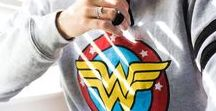 GRL PWR // Wonder Woman Collection / Celebrating all the powerful women in your life.   Shop our exclusive Wonder Woman Collection at ALEXANDANI.com and go see Wonder Woman in theaters June 2, 2017