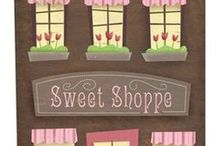 Candy Shop Illustrations