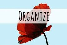 Get Organized! / Organization tips, tricks, DIY, hacks, and links for life, home, homeschool, and parenting.