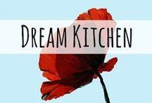 Dream Kitchen / I'm dreaming of a new kiiiiiiitchen! Lots of pins related to kitchen renovation, storage, organization, style, design, etc.
