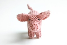 knited/crocheted toys