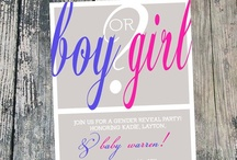 Angie is having a.....Baby!  Gender Reveal Party / Will it be a boy or a girl?