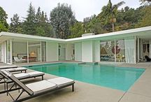 Architecture | MCM. / Mid Century Modern and Atomic Ranch homes and decor of the 60s.