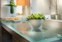 Design | Surfaces. / Countertops, tiles, flooring.