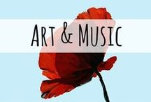 Art & Music / Art and Music ideas, lessons, and inspiration for your homeschool or classroom.