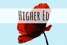 Higher Education / Articles, posts, links, and resources related to the field of higher education.