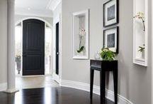 Greige / paint colors, tiles, greige, home, decor