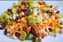 Eat | Sides & Salads. / Grains, seeds, and veggies, such as pasta, rice, quinoa, ferro, potatoes, squash, etc. served up as salads, noodles, gratins, casseroles, etc.