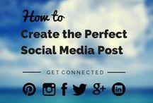 Work | Social Media. / Blogging, Email newsletters, Facebook, Instagram, LinkedIn, etc.