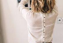 Minimal Fashion Näh-Inspiration / minimalismus, clean, geradlinig, Mode, Fashion
